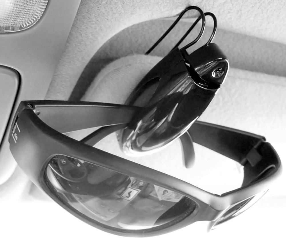 Color at Random Jtshy 5 Pcs Auto Car Vehicle Sun Visor Clip Holder for Sunglasses Car Accessories Allure*love CECOMINOD019496