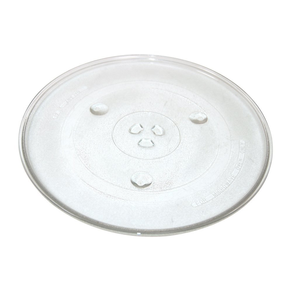 Universal Microwave Turntable Glass Plate with 6 Fixers Maddocks 75-UN-12