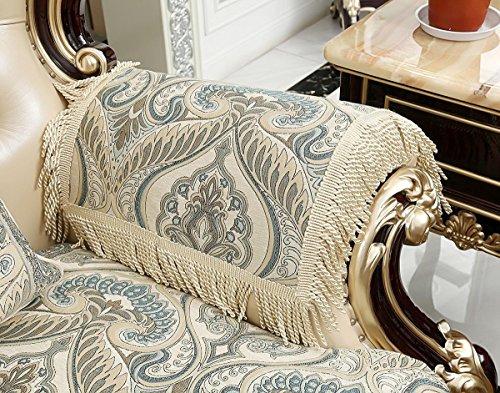 Sideli Luxury Sofa Arm Chair Pad Non-slip (2pc-20x24