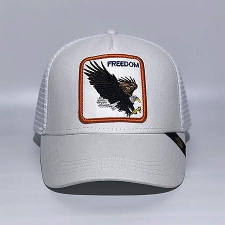 sdssup Eagle Gorra De Béisbol Bordada Gorra Bend Cap Eagle White ...