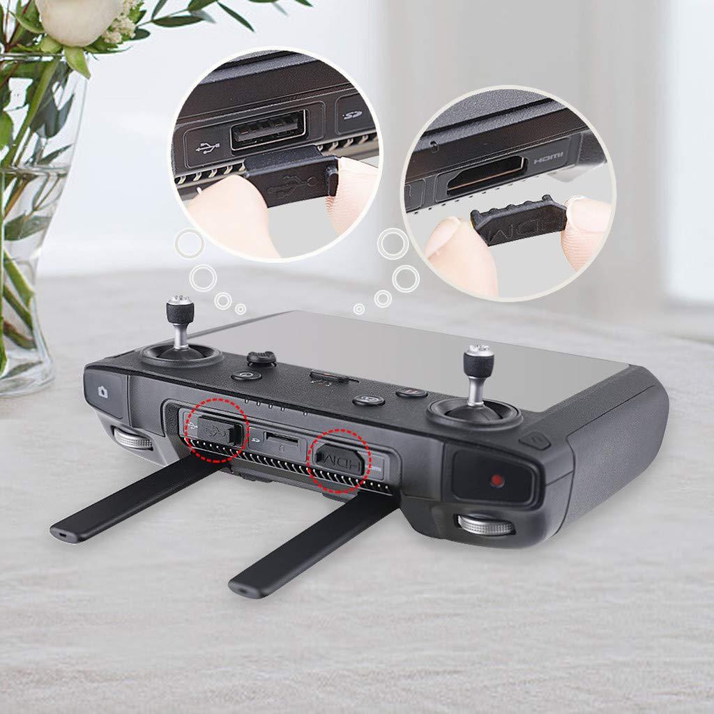 und Typ-C-Schnittstellen-Staubstecker f/ür DJI Smart Controller Mavic 2 BaZhaHei Modellflugzeug Markthym USB HDMI /& Type-C Interface Dust Plug for DJI Smart Controller Mavic 2 USB-HDMI