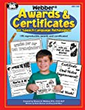 img - for Webber Awards & Certificates for Speech-Language Pathologists with Printable CD-ROM book / textbook / text book