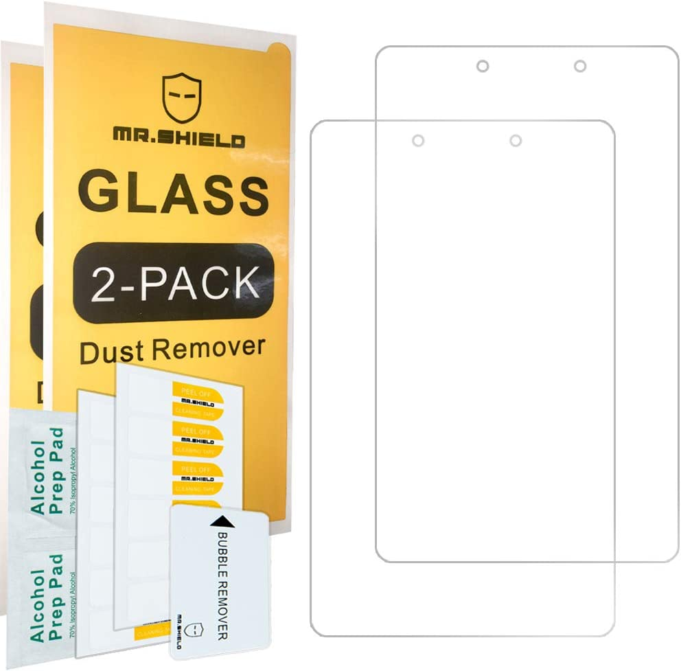 [2-PACK]- Mr.Shield For SamsungGalaxyTabA8.0(2019)(SM-T290Modelonly) [Tempered Glass] Screen Protector with Lifetime Replacement