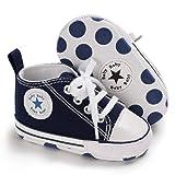 Tutoo Unisex Baby Boys Girls Star High Top Sneaker
