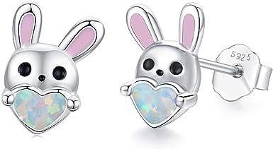 Moon Rabbit Mythical Drop Earrings