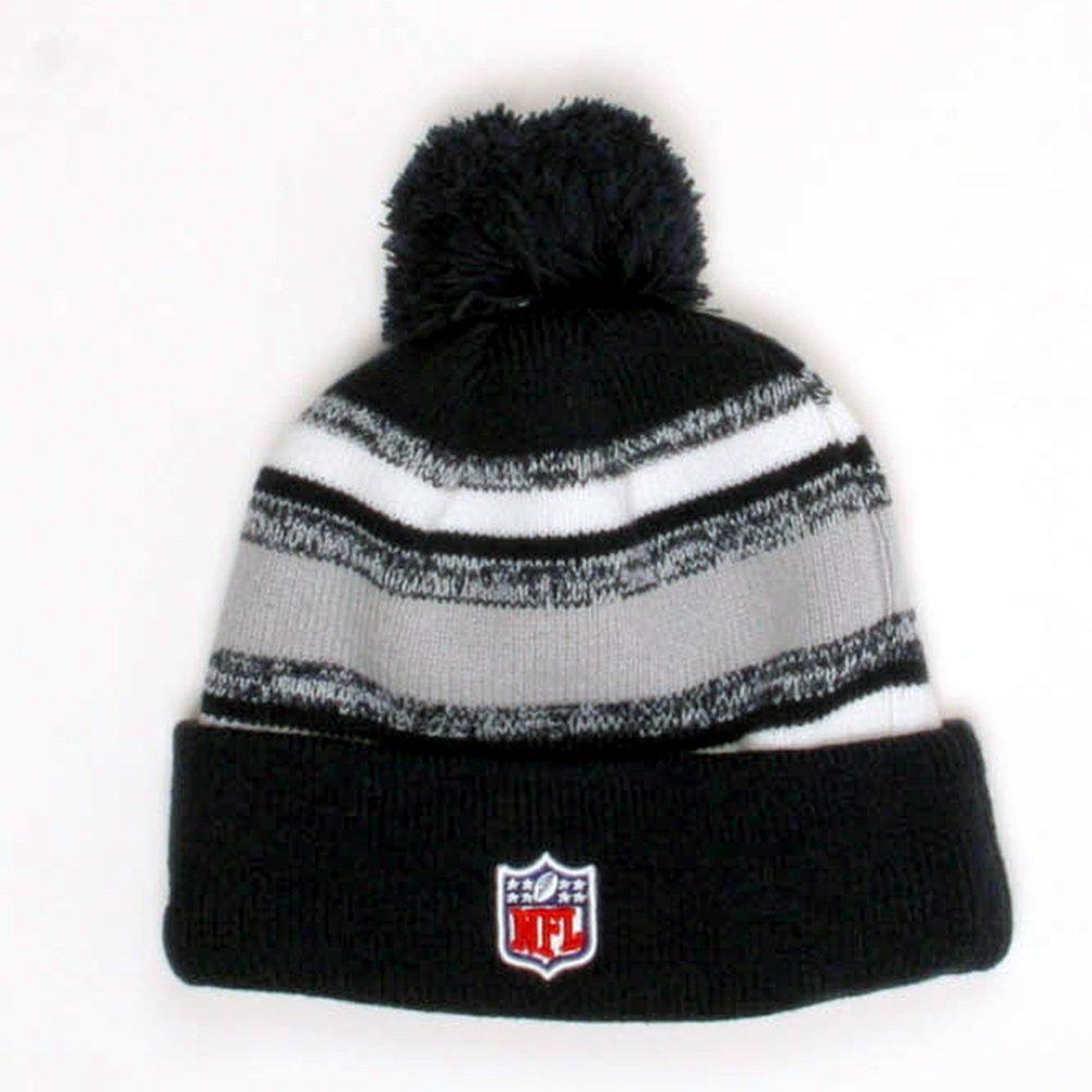 Amazon.com   New Era Men s Dallas Cowboys Sideline Sport Knit Beanie  Navy Grey White Size One Size   Sports   Outdoors 7b3c725ca