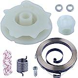 Adefol Chainsaw Recoil Starter Pulley Spring Kit for Poulan PP4218 PP4620AV PPB4018 SM4218AV with Recoil Spring W/Hub…