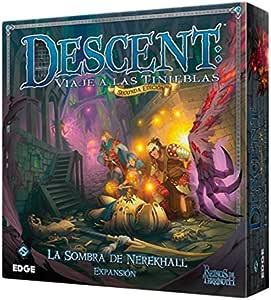 Edge Entertainment Reinos de Terrinoth - La Sombra de Nerekhall, Juego de Mesa DJ07: Amazon.es: Juguetes y juegos