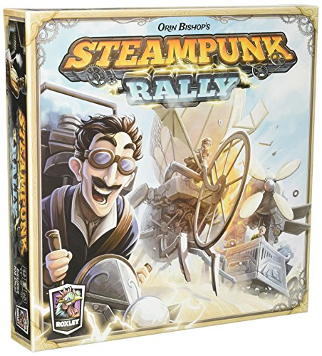 Steampunk Rally Board Game (Best Cheap Steam Games)