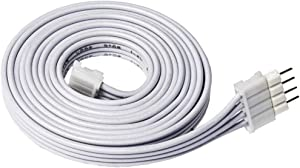 Litcessory Extension Cable for LIFX Z Lightstrips (3.3ft, 1 Pack, White)