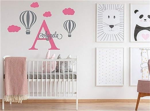 Personalised Name Wall Art Sticker Letter Bedroom Nursery Decal kids