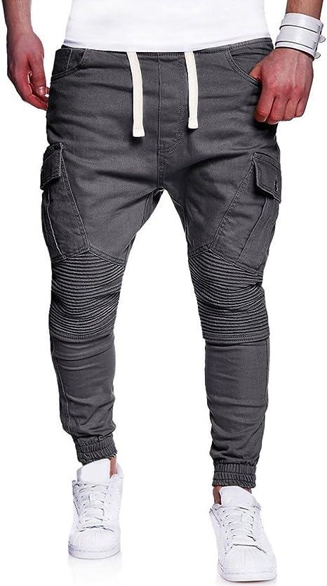 Mumustar - Pantalones de chándal para Hombre, Talla Grande ...