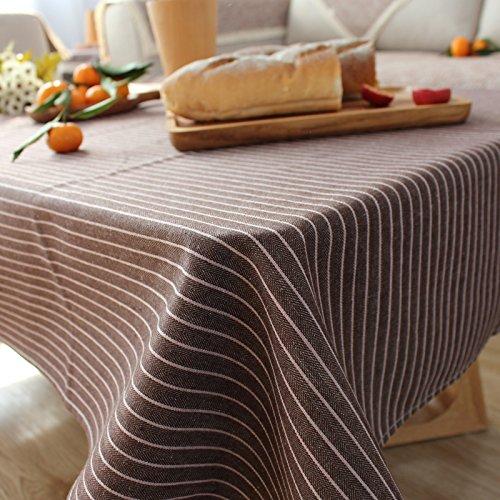 qingv japonés Manteles tela lino y algodón comedor mesas ...