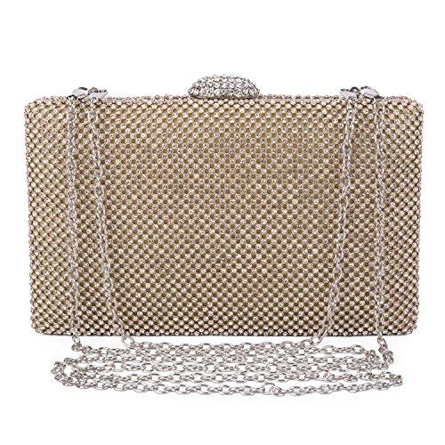V Fashionable Classical Premium PU Leather Hand Bag(Pink) - 1