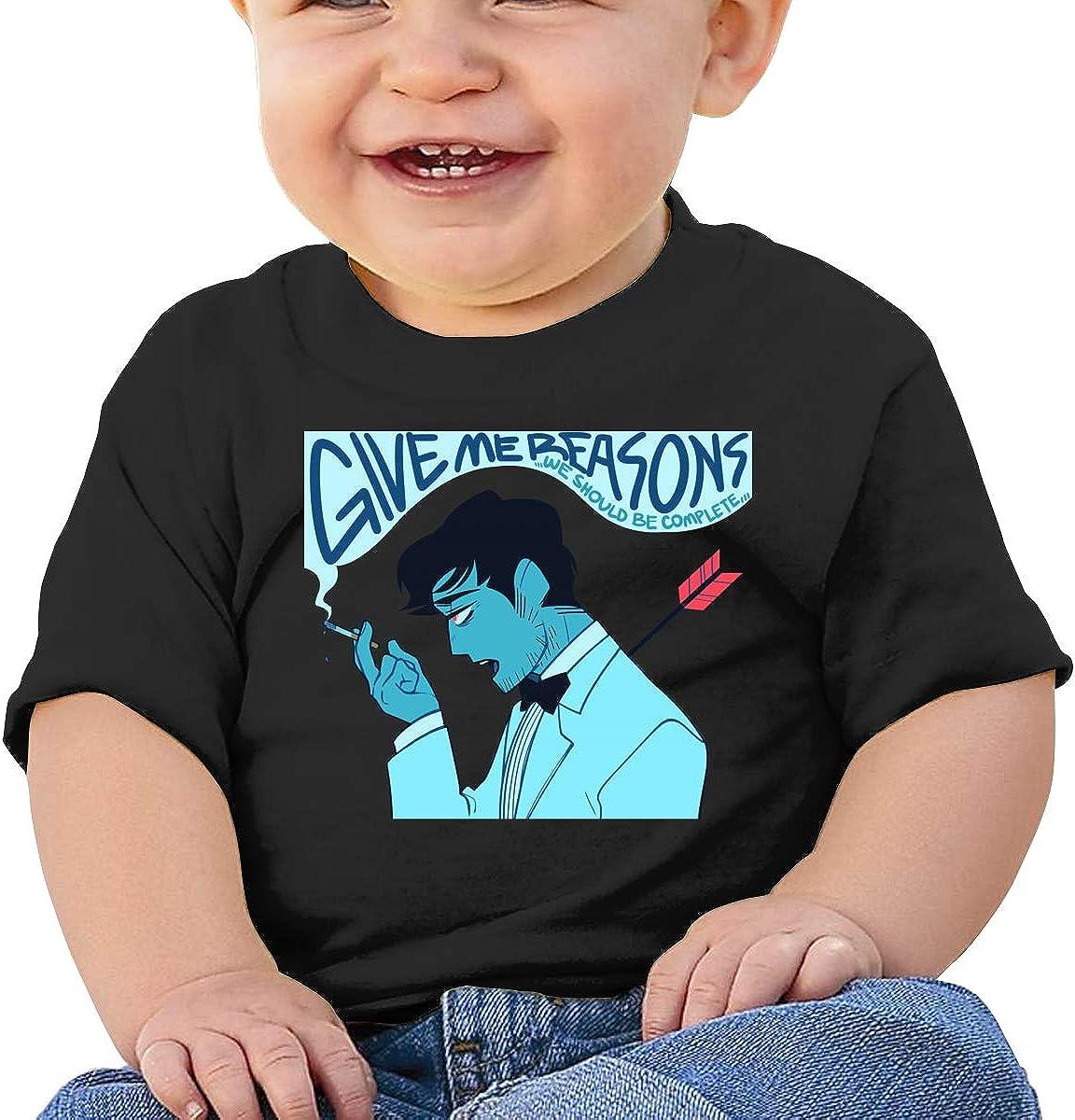 Baby JoJo Slow Dancing in The Dark Shirts Toddler Cotton Tee