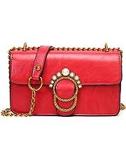 IMBETTUY Ladies Crossbody Bags Womens Handbags Fashion Tote Hobos High Quality PU Leather Shoulder Messenge Bags Casual Girls Bags Red