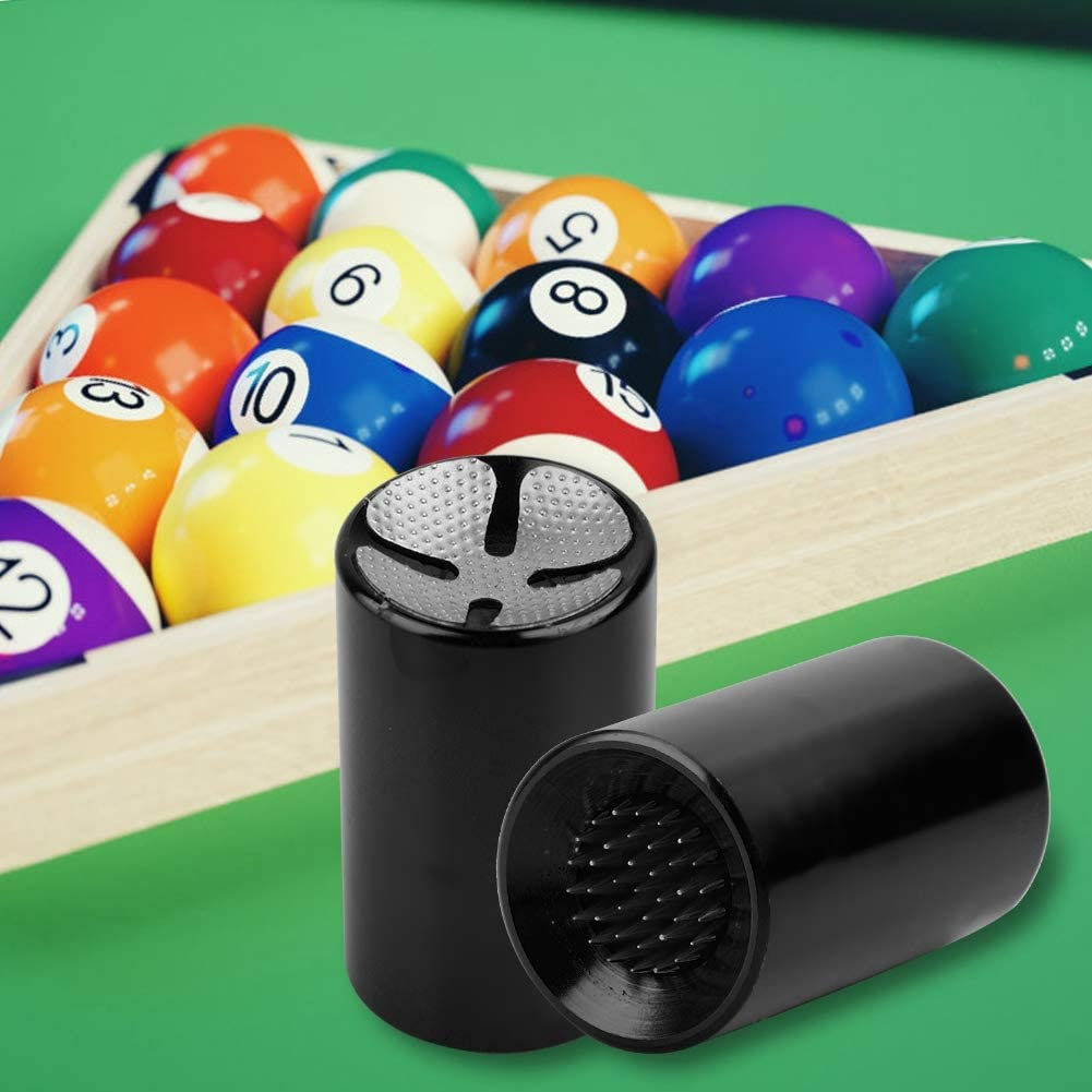 Alomejor 3pcs Pointe de Queue de Billard Portable Pointe de Queue de Billard r/éparation Shaper Tondeuse Outil Taille Crayon Design pour Billard Billard Pointe de Snooker