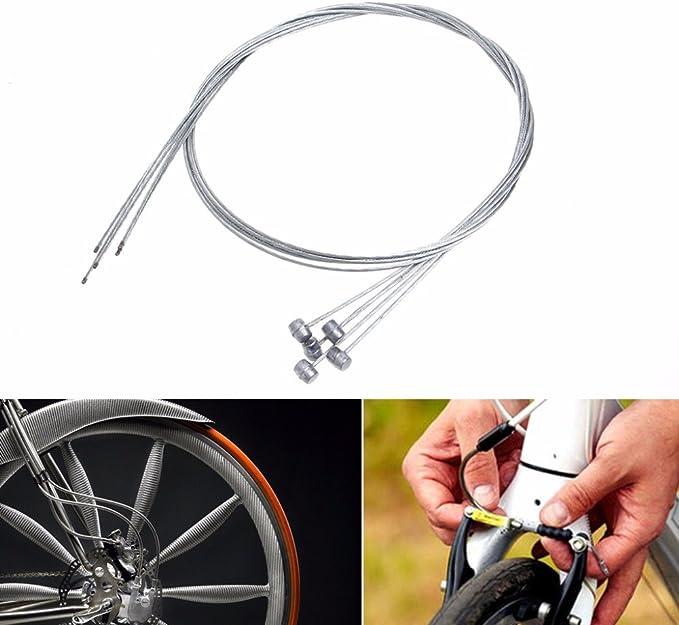 WINOMO 10/piezas 2/m Bycicle bicicleta freno Cable de alambre l/ínea desviador