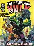 The Rampaging Hulk#6 Comic Magazine