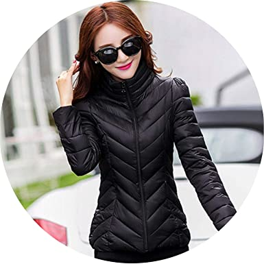 ace0ae62454 Girl-Shop Womens Jackets Solid Zipper Women Spring Basic Jacket Autumn  Winter Slim Warm Ladies