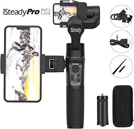 Hohem iSteady Pro 2,3 Axis Splash Proof Gimbal Stabilizer ...