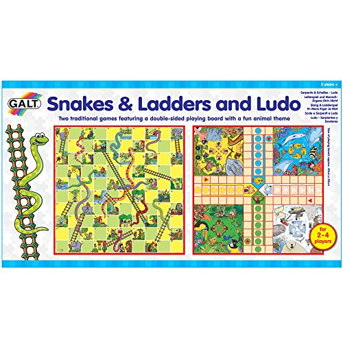 Galt Toys, Snakes & Ladders and Ludo, Board Game