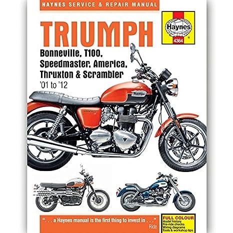 manual triumph bonneville se
