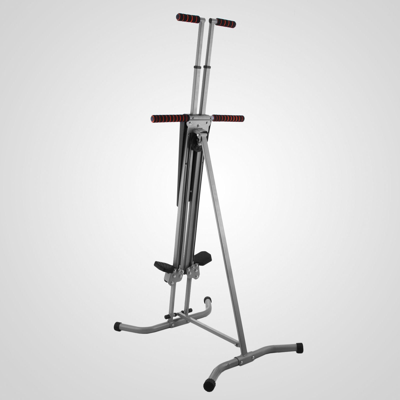 LCD Vertical Climber Stepper Climbing Machine Home Use Digital Calorie 200Kg by Happybeamy (Image #1)