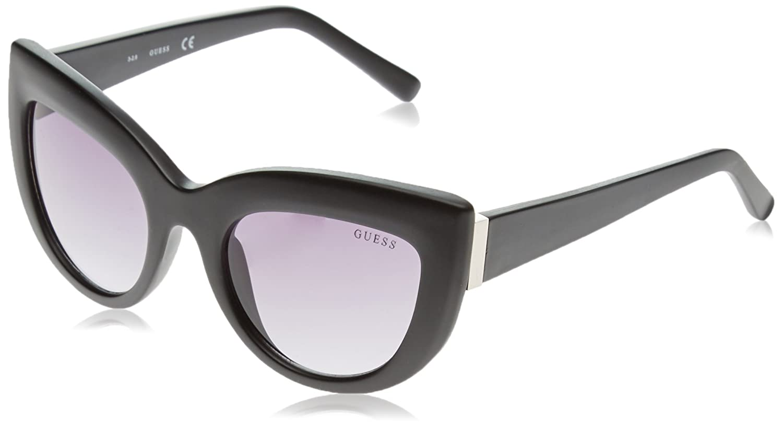 Guess Sonnenbrille GF60375202B Gafas de sol, Negro (Schwarz), 52 para Mujer
