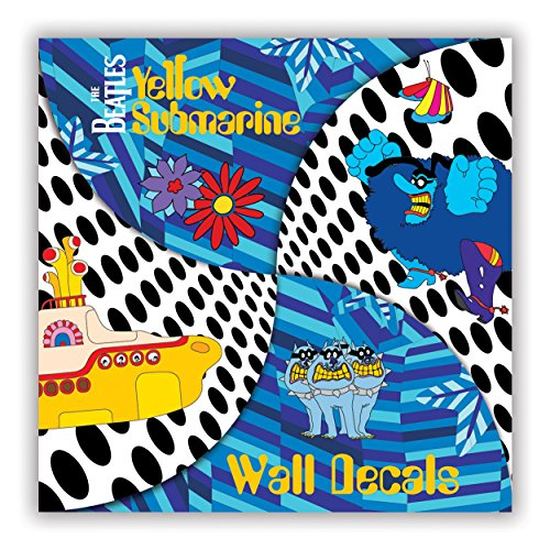 Price comparison product image Mudpuppy The Beatles Yellow Submarine Wall Decals