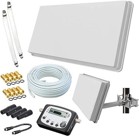 Selfsat H30d2 Flachantenne Twin 20m Kabel Elektronik