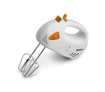 619823 Batidora de mano eléctrica DICTROLUX doble fricción 120 W 7 velocidades - Naranja: Amazon.es: Hogar