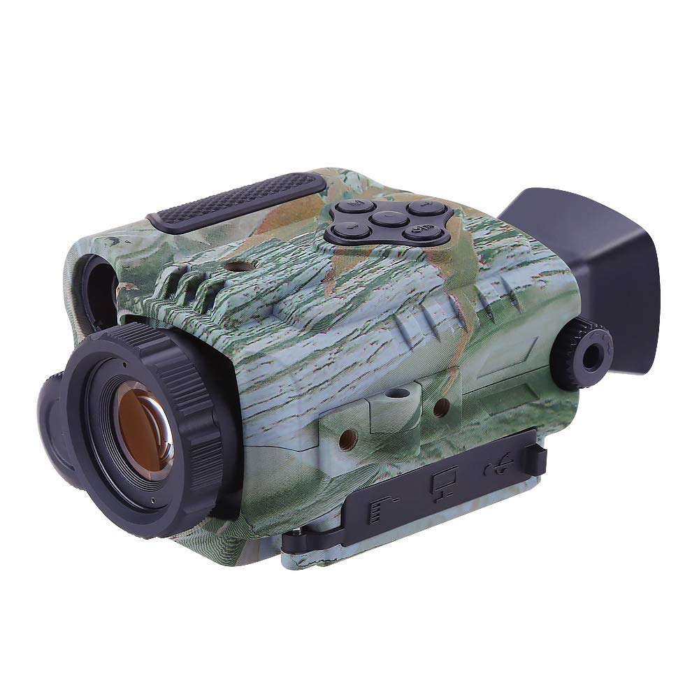 BOBLOV P4 Night Vision Monocular 5X Digital Zoom Infrared Portable Night Vision Scope 200Yards Visible for Hunting Forest Observe Wildlife Secenery (Camouflage) by BOBLOV