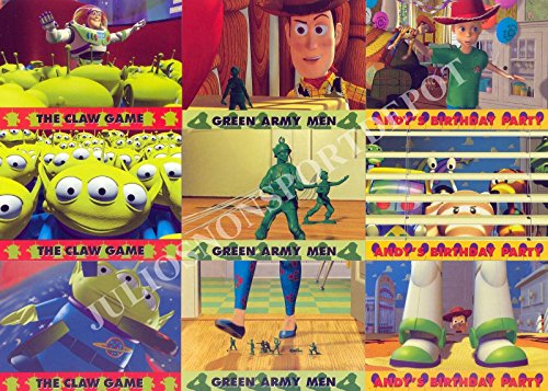 TOY STORY 1 SERIES 2 1996 SKYBOX COMPLETE BASE CARD SET OF 74 DY DISNEY ()