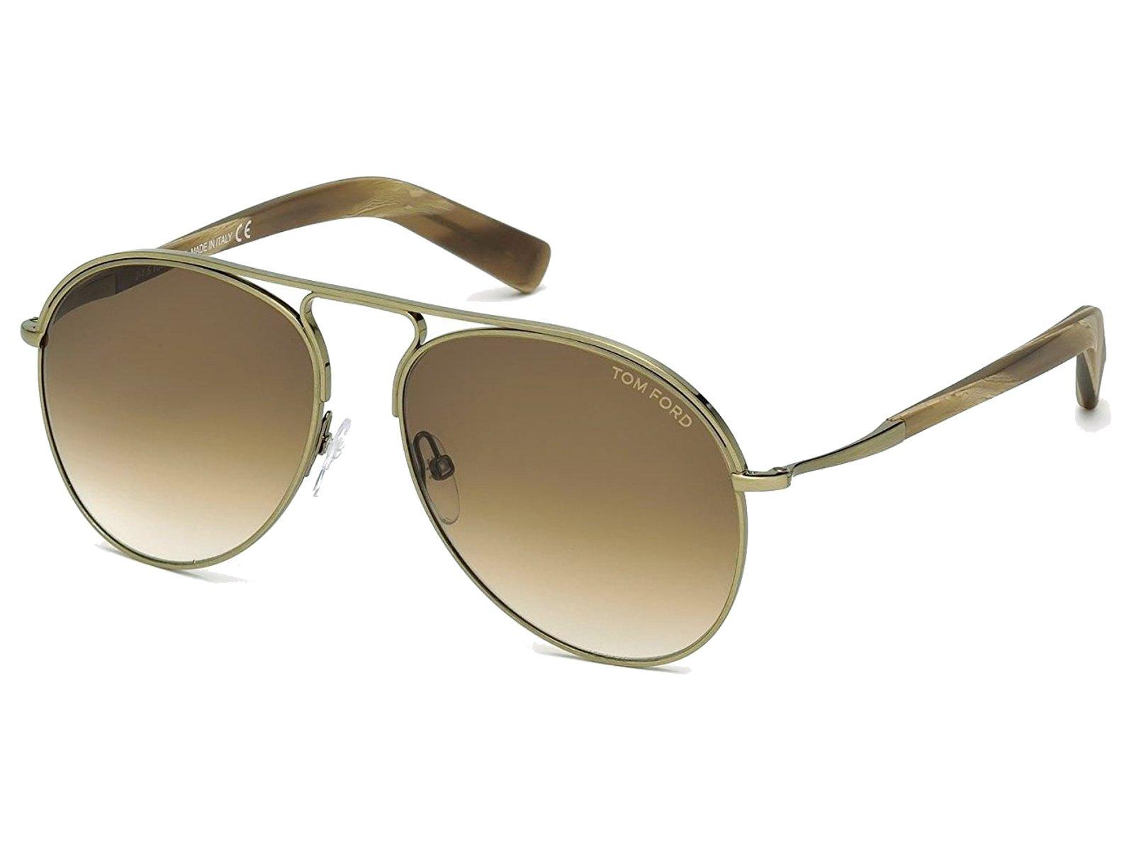 Tom Ford TF0666 Tripp Aviator Sunglasses 58mm