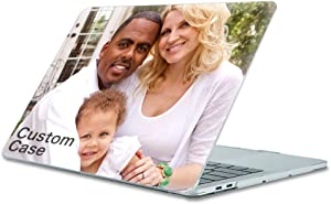"""SHUMEI Custom MacBook Air 13 inch Case Model A1369/A1466 (Release 2010-2017) Personalized Photos Crystal Clear Hard Shell Cover for Older Version MacBook Pro 13"""""""
