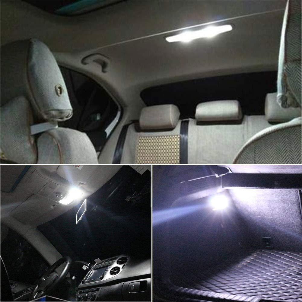 GOUSHINE 4x C5W LED 39mm Blanc 2835 Ampoules 6SMD Festoon LED D/ôme Voiture Int/érieur LED Lumi/ère Lampe de Plaque dImmatriculation 12V