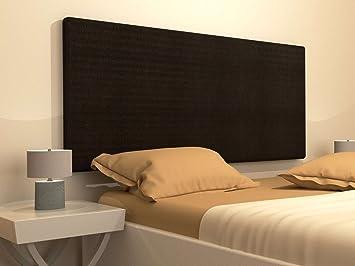 LA WEB DEL COLCHON Cabecero tapizado Manila (Cama 180) 190 x 70 cms. Color: Cobre Oscuro: Amazon.es: Hogar