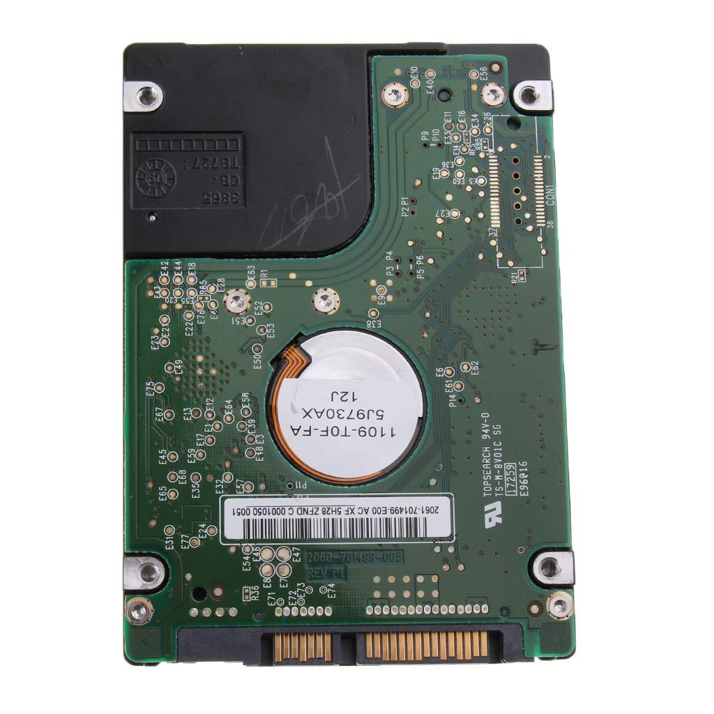 KESOTO 1 Pieza de Disco Duro 2.5 Pulgadas SATA Interno Reemplazo Interfraz Compatibilidad 80 GB
