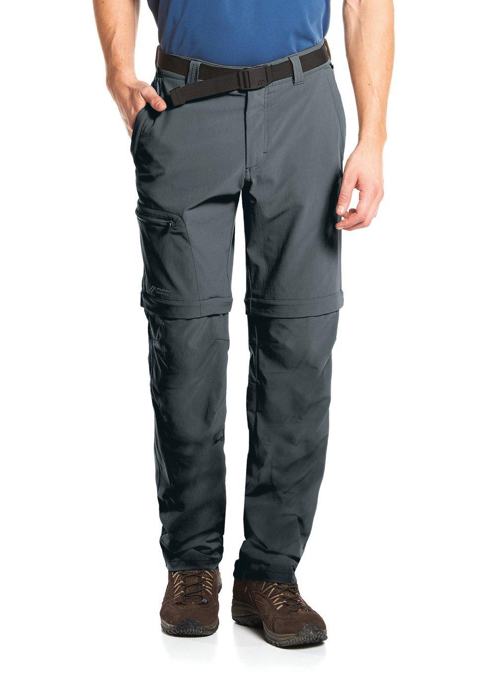 Vert Treetop Taille 33 Maier Sports - Tajo 2 - Zipp Pantalon de randonnée - Homme