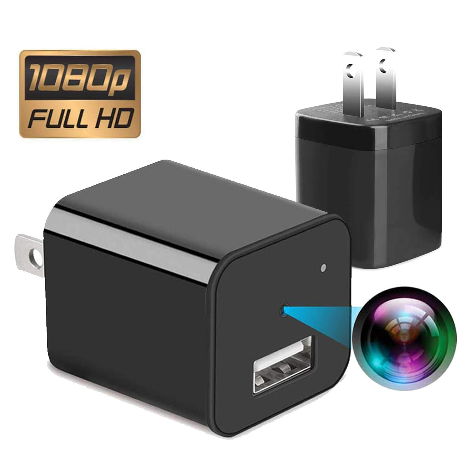 Give 32G TF Card |Spy Camera Charger | spy Cameras | Hidden Camera | spy cam | Nanny cams |Hidden Spy Camera | cam Hidden | Hidden Cam | Surveillance Camera Full HD | USB Charger Camera 1080p by XJW