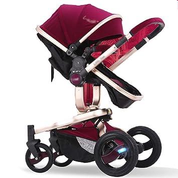 ... Portátil/Puede Sentarse Reclinable/Plegable/Mini Paraguas de Bolsillo para Niños, Carro Tridimensional de Dos Ruedas: Amazon.es: Deportes y aire libre