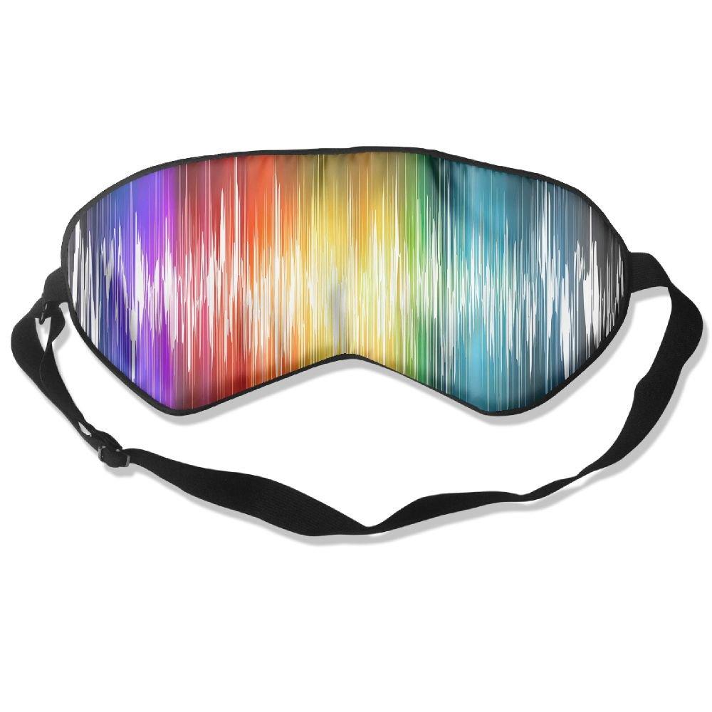 GKAHSICN Sound Waves Sleep Silkworm Eye Mask For Sleep Home Travel