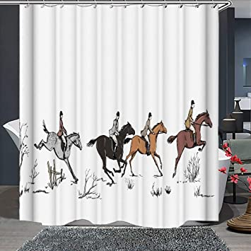 Baseball bat and gloves Shower Curtain Bathroom Decor Fabric /& 12hooks 71*71inch