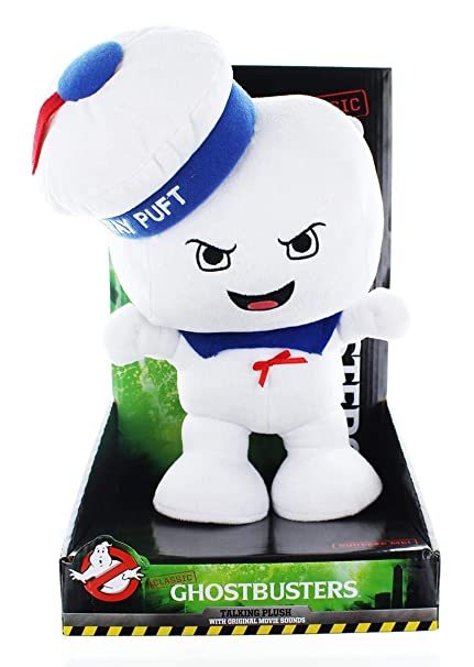Ghostbusters Classic Stay Puft Marshmallow Man 12 Talking Plush (Angry Face)