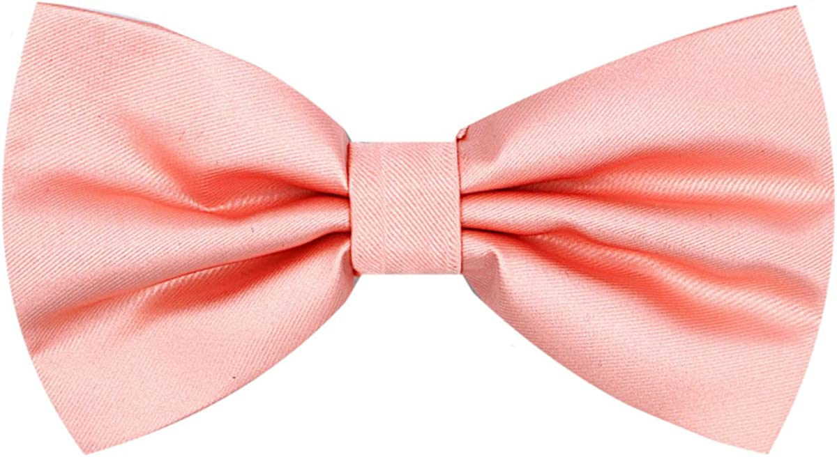 Oliver George Solid Pre-Tied Bow-Tie