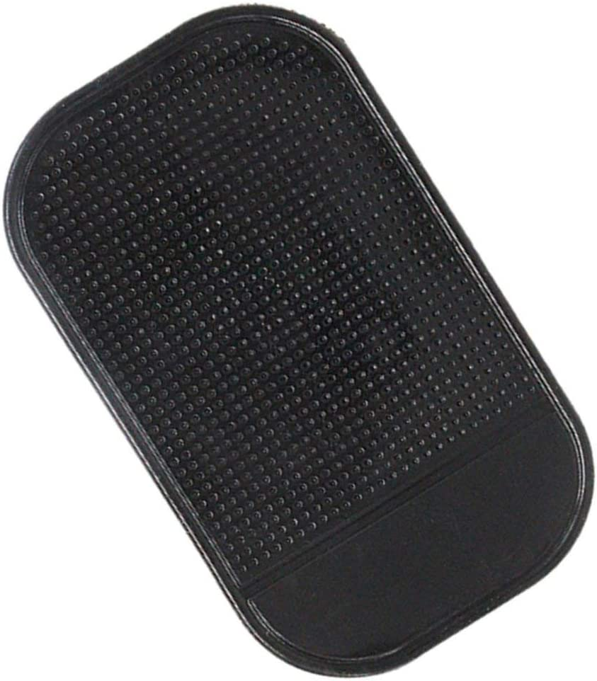 Noir Pgige Silicone antid/érapant Tapis antid/érapant Voiture Tableau de Bord Support de Montage de Pad Collant pour t/él/éphone Portable v/éhicule GPS Support Accessoires int/érieurs