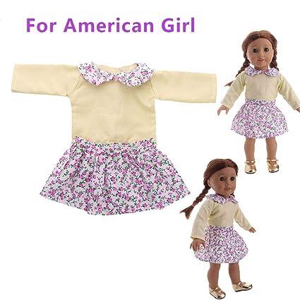 YOYOGO ❀Juguetes para Bebés Accesorios De Disfraces Diarios para Muñecas  Ropa para Muñecos De 18 ede29aeddf1d