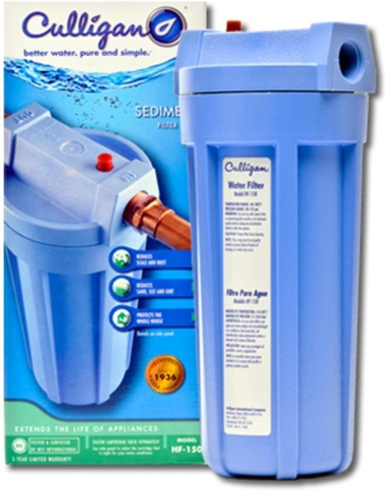 Opaque Whole House Sediment Water Filter
