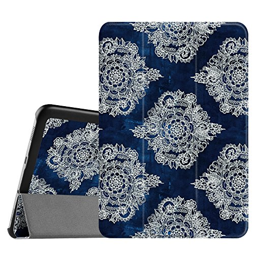 Fintie Samsung Galaxy Tab S2 8.0 Case - Ultra Slim Lightweight Smart Shell Stand Cover with Auto Sleep/Wake Feature for Samsung Galaxy Tab S2 / S2 Nook 8.0 Inch Tablet, Indigo Dreams
